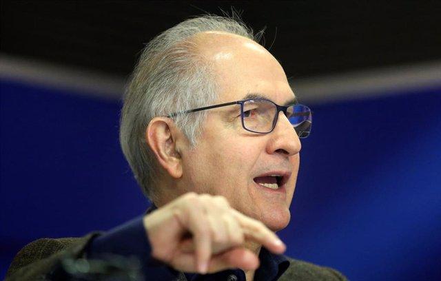 El ex alcalde de Caracas Antonio Ledezma
