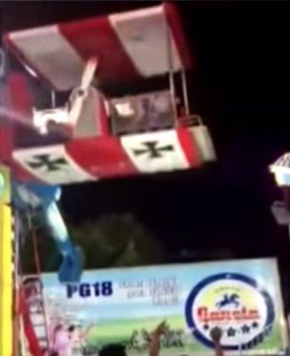 Falla una atracción infantil en la Feria de León (México) y deja 10 menores heridos