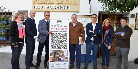 1. El Grupo Puerta Sevilla y Vodafone dotan al barrio cordobés del Alcázar Viejo de conexión wifi gratuita