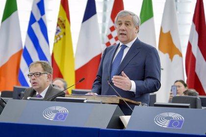 """Tajani llama """"presidente"""" a Guaidó y le reconoce como """"único"""" interlocutor en Venezuela"""