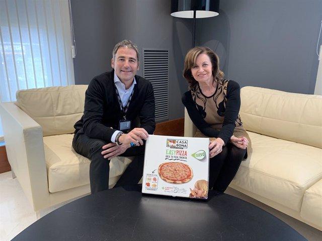 Ferran Salvatella (Casa Bona) i Anna Bosch (Noel Alimentaria)