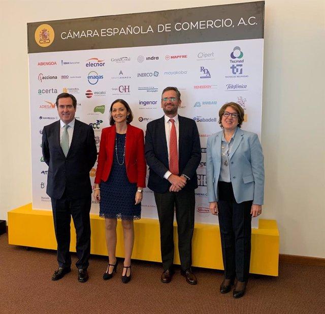 Encuentro empresarios españoles y mexicanos