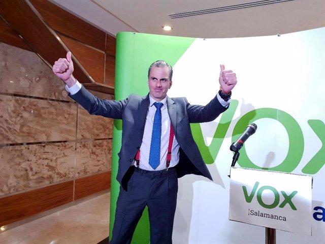 Mitin de Vox en Salamanca