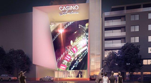 Proyecto de Jocs SA para un casino en Andorra