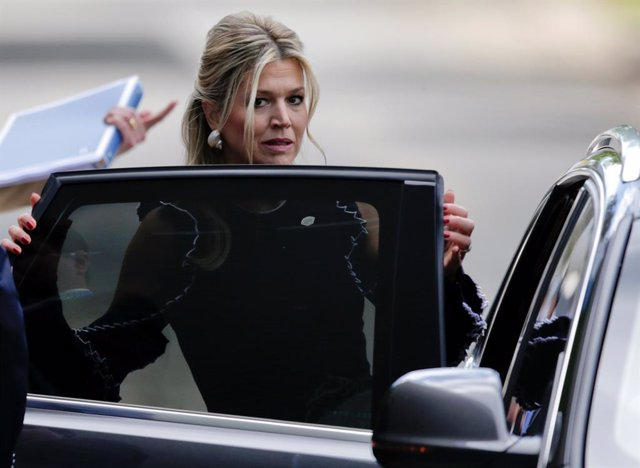 Queen Maxima of the Netherlands arrives for the G20 leaders summit in Buenos Air