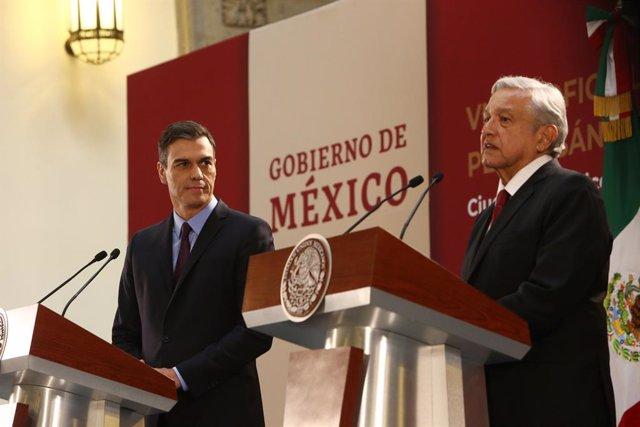Pedro Sánchez visita México