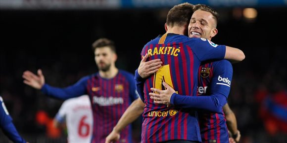 8. El Barça aplasta al Sevilla en otra remontada copera