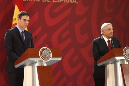 Sánchez agradece a México que fuera tierra de acogida para el exilio republicano