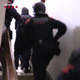 Desarticulat un grup criminal que explotava sexualment dones a Barcelona