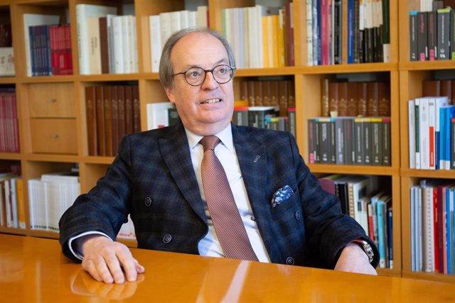 Entrevista de Europa Press al nuevo presidente del Consejo de la Abogacía Catala