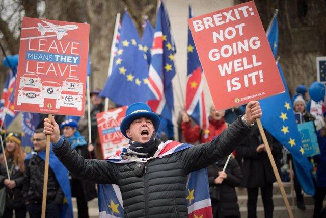 Protestes contra el Brexit a Londres