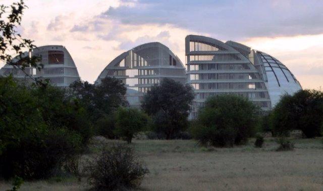 Cúpulas de la Ciudad del Medio Ambiente de Soria