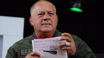 """""""2.000.000 en milica, listos"""", la respuesta de Diosdado Cabello al asesor de Seguridad Nacional de EEUU"""
