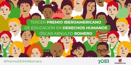 Fundación SM y OEI convocan el III premio Óscar Arnulfo Romero que reconoce iniciativas a favor de los Derechos Humanos