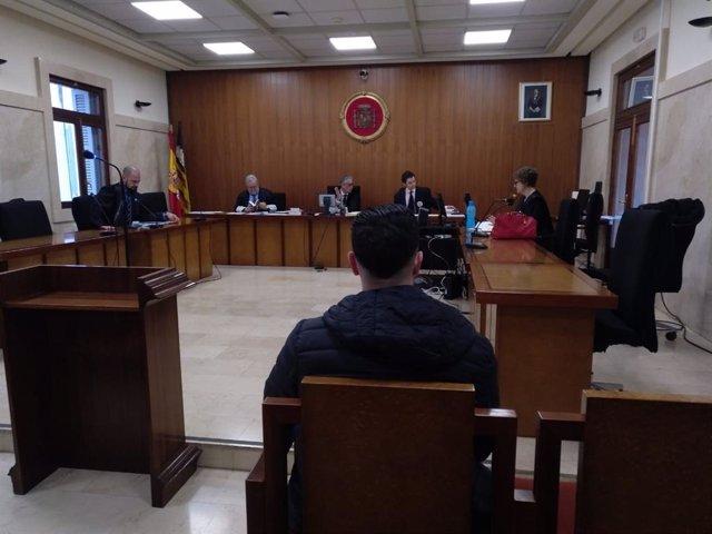 Juicio por intento de homicidio a un guardia civil en Mallorca