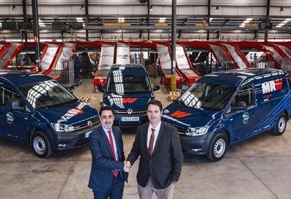MRW y Volkswagen inician un proyecto de movilidad con vehículos de GNC