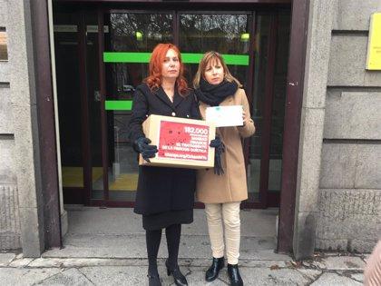 Entregadas 182.000 firmas al Ministerio para exigir la financiación de 'Orkambi' para la fibrosis quística