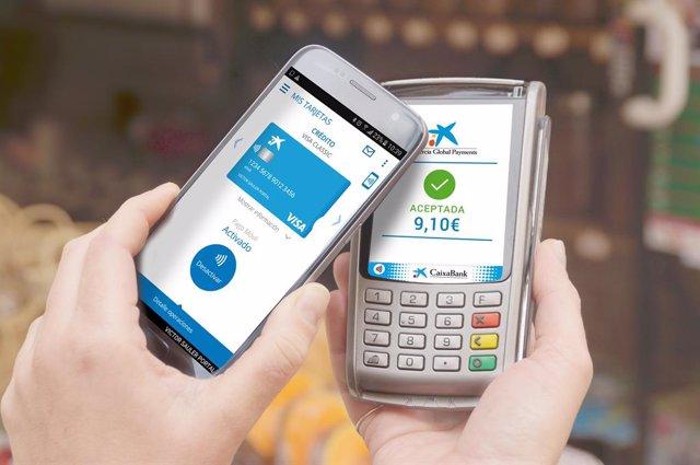 Pagaments mòbil amb CaixaBank