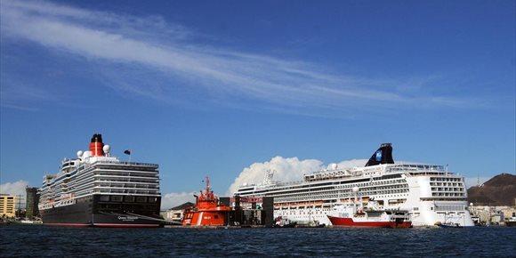 5. El tráfico de cruceros crece en los puertos de Las Palmas un 7,3% en 2018 al arribar 1,33 millones de visitantes