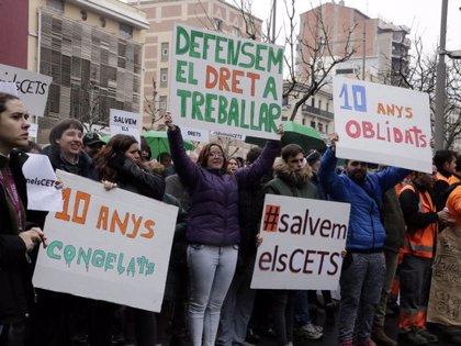Un miler de manifestants clamen pels drets de les persones amb discapacitat a Lleida