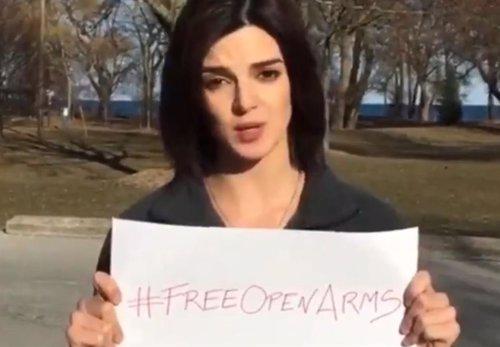 La actriz Clara Lago pide el desbloque del Open Arms