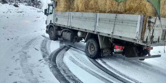 8. Suspendidas este viernes las clases en las zonas de montaña de Lugo y Ourense por el aviso naranja por nieve