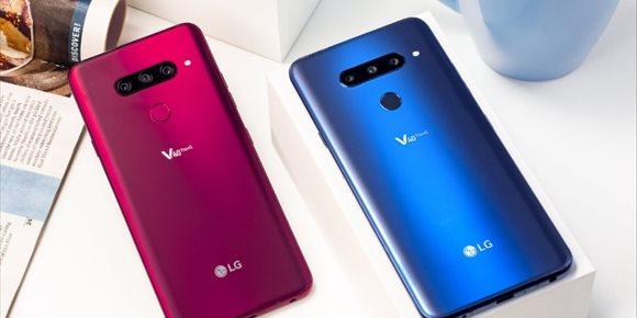 7. LG llevará a MWC 2019 sus 'smartphones' G8 y V50, según ETNews
