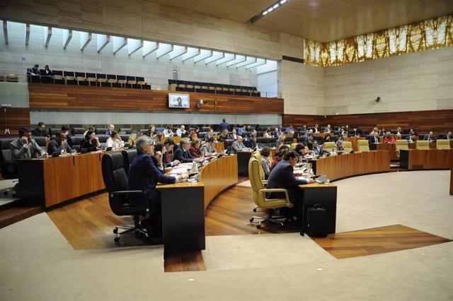Diputados de la Asamblea de Extremadura