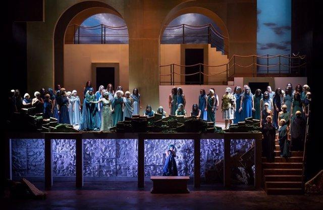 Casi 100 cines proyectarán las óperas 'Norma' de Bellini y 'Ariadne auf Naxos' d
