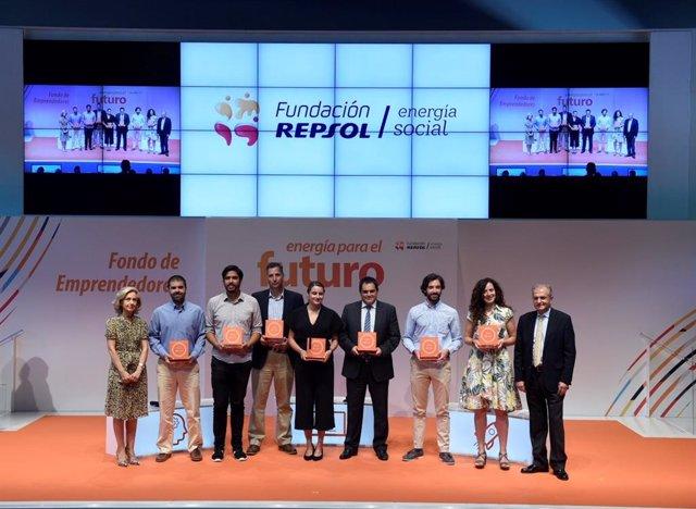 Convocatòria per 'start-ups' del 2017, de la Fundació Repsol (Arxiu)