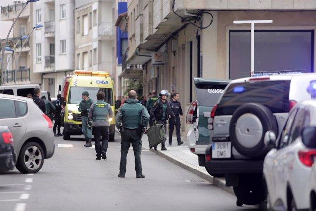Posible caso de violencia de xénero no Grove (Pontevedra)