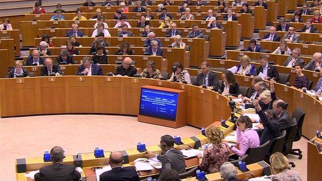 Ple del Parlament Europeu