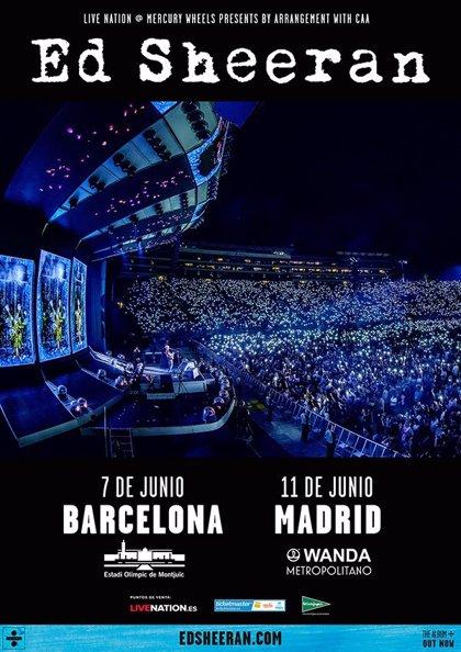 James Bay i Zara Larsson, artistes convidats en els concerts d'Ed Sheeran a Barcelona i Madrid