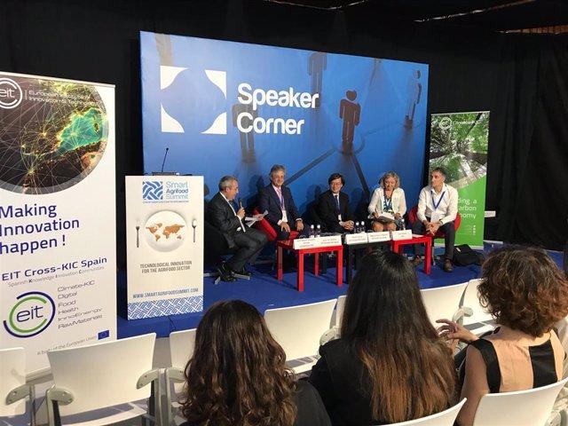 Paneles Temáticos Startup Europe Smart Agrifood Summit 2018