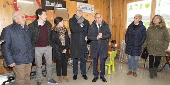 5. El 'garbigune' de Campezo (Álava) entra en servicio tras una inversión de medio millón de euros