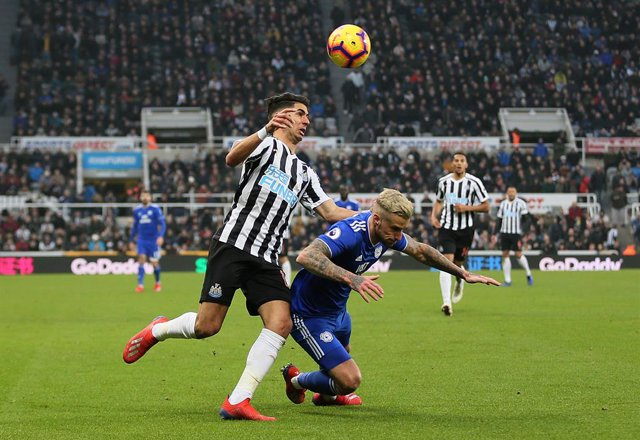 England Premier League - Newcastle United vs Cardiff City