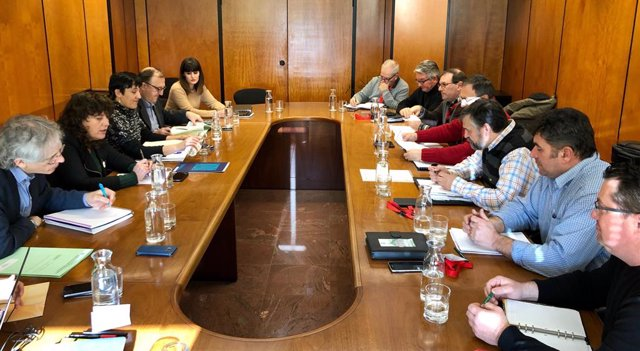 Reunió bilateral entre la Conselleria Agricultura i  Unió de Pagesos