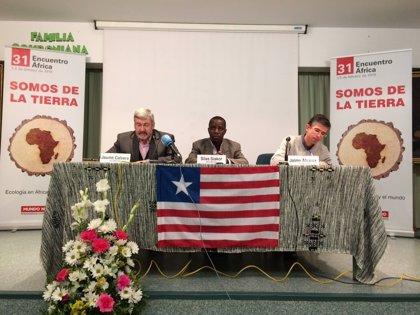 """El activista liberiano Silas Siakor pide a Europa una normativa contra el """"expolio"""" de las multinacionales en África"""