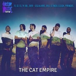 The Cat Empire s'incorpora al cartell del Doctor Music Festival