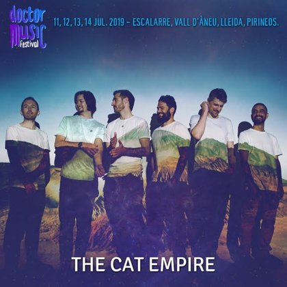 The Cat Empire s'incorpora al cartell del Doctor Music Festival