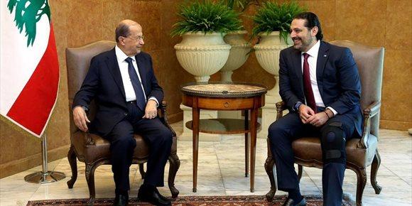 5. Los partidos políticos de Líbano alcanzan un acuerdo para formar Gobierno