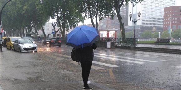 2. El tiempo empeorará en Euskadi a partir de la segunda mitad de este viernes