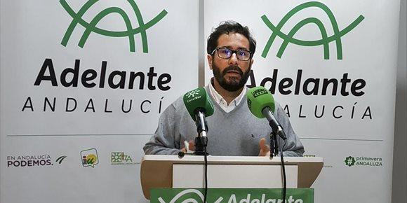 9. David Moscoso solicita la compatibilidad profesional en el Parlamento andaluz y renuncia a su sueldo de parlamentario