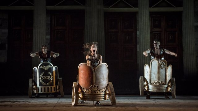 'Ben-Hur' Arriba En Clau De Comdia Al Teatre Coliseum De Barcelona