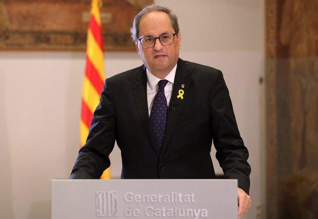 El president de la Generalitat, Quim Torra (Arxiu)