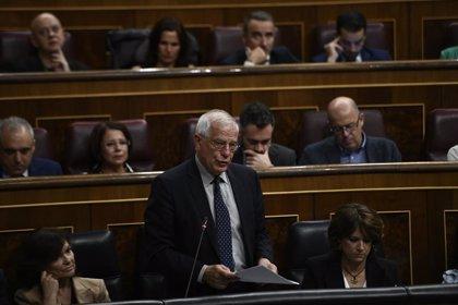 """Borrell dice que """"naturalmente"""" el Gobierno reconocerá a Guaidó el lunes si Maduro no convoca elecciones"""