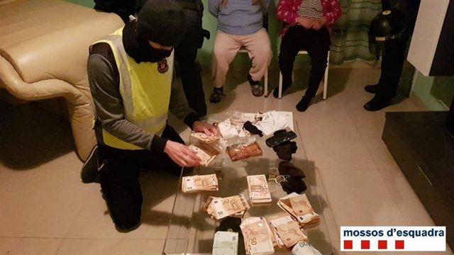 Operació de Mossos contra el tràfic de drogues a Reus i Valls (Tarragona)