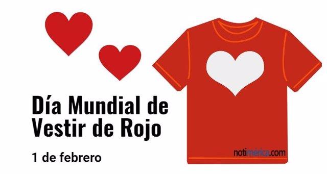 Día Mundial de Vestir de Rojo 1 de febrero