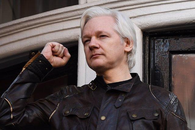 Julian Assange, mayo 2017