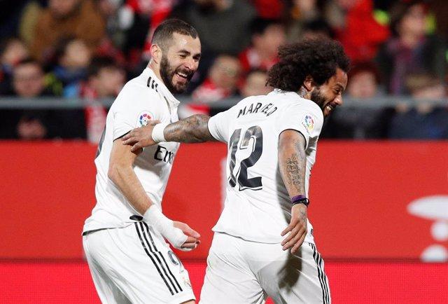 Benzema y Marcelo